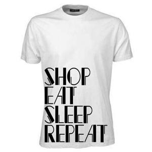 Shop Eat Sleep Repeat T-shirt