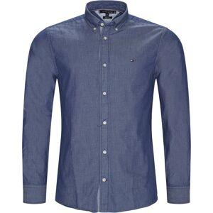 Tommy Hilfiger Skjorta - Regular - Blå  - stl L