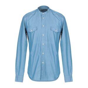 BRIAN DALES Denim shirt Man