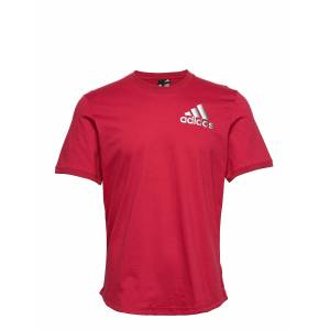 adidas Performance M Sid Tee Ct T-shirts Short-sleeved Röd Adidas Performance