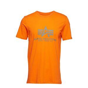 Alpha Industries Basic T-Shirt T-shirts Short-sleeved Orange Alpha Industries