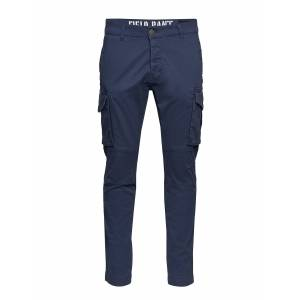 Alpha Industries Field Pant Trousers Cargo Pants Blå Alpha Industries