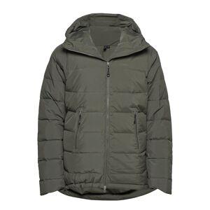 Bergans Stranda Down Hybrid Jkt Outerwear Sport Jackets Grön Bergans