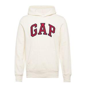Gap Logo Pullover Hoodie Hoodie Vit GAP