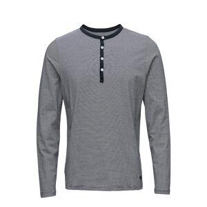 Helly Hansen Fjord Henley T-shirts Long-sleeved Grå Helly Hansen
