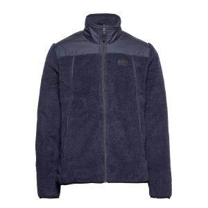 Helly Hansen Oslo Reversible Pile Jacket Outerwear Sport Jackets Blå Helly Hansen
