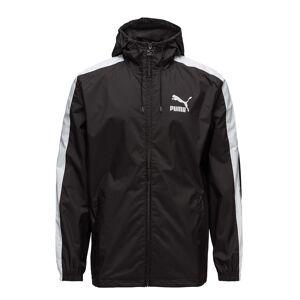 PUMA Classics Logo Windbreaker Outerwear Sport Jackets Svart PUMA