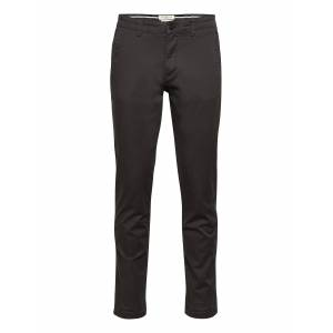 Selected Homme Slhstraight-Newparis Flex Pants W Noos Chinos Byxor Svart Selected Homme