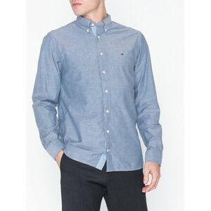 Tommy Hilfiger Organic Oxford Shirt Skjortor Blue