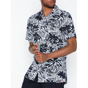 Tommy Hilfiger Hawaiian Print Shirt S/S Skjortor Print