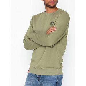 Alpha Industries Basic Sweater Small Logo Tröjor Olive