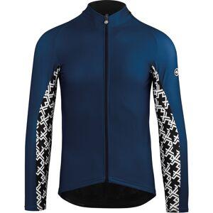 assos Mille GT Spring Fall LS Jersey Herr caleum blue XLG 2019 Långärmade cykeltröjor