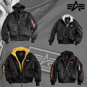 Alpha industries MA-1 jacka D-TEC SE