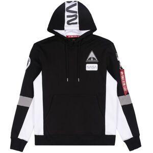 Alpha Industries Mäns Hooded tröja Space Camp