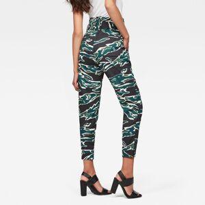 G-Star RAW Rovic High Waist Paperbag Pants 26-30 Green