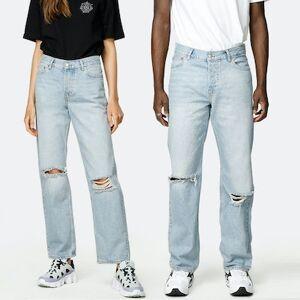 JUNKYARD Jeans - Nevermind Unisex 26 Blå