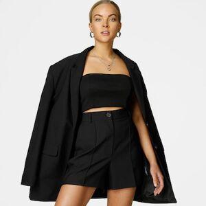 JUNKYARD Shorts - Pleat shorts Female S Svart