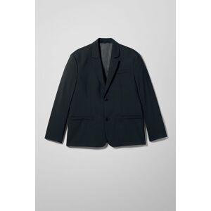 Marzio Wool Blend Suit Jacket - Black