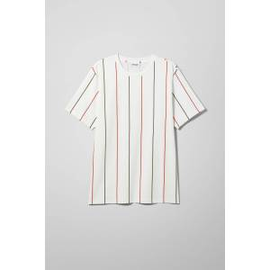 Frank Vertical T-shirt - White