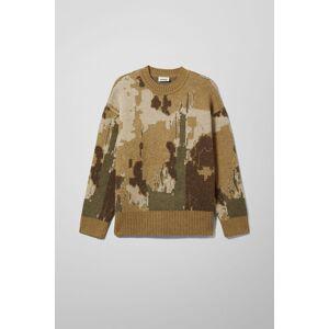 ART Romeo Art Jacquard Sweater - Beige