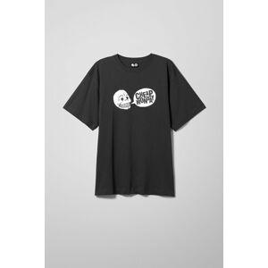 Tee Uni Tee Speech Logo - Black