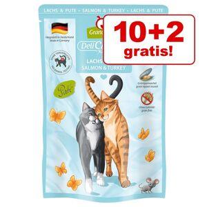 Granatapet 10 + 2 p kpet! 12 x GranataPet DeliCatessen - Mix II PUR (800 g)