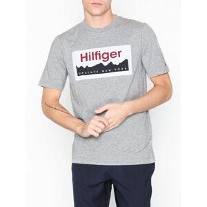 Tommy Hilfiger Label Fashion Fit Tee T-shirts & linnen Cloud