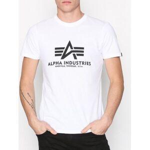 Alpha Industries Basic T-Shirt T-shirts & linnen White