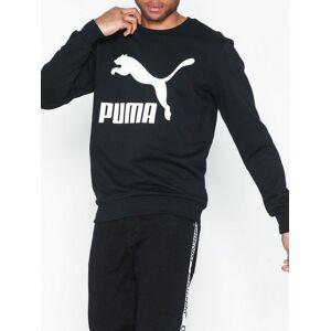 Puma Classics Logo Crew Tröjor Black