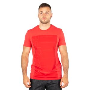 Dainese T-Shirt Dainese Lean-Angle Röd