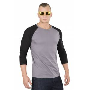 Dainese T-Shirt Dainese Thunder723/4T Grå-Svart