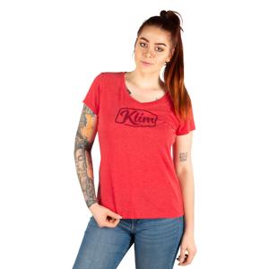 KLIM T-Shirt Klim Script Röd