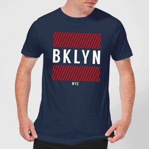 Zavvi Clothing BKLYN NYC T-Shirt - Navy - S - Navy