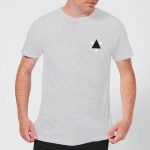 Zavvi Clothing Triangle T-Shirt - Grey - 4XL - Grey