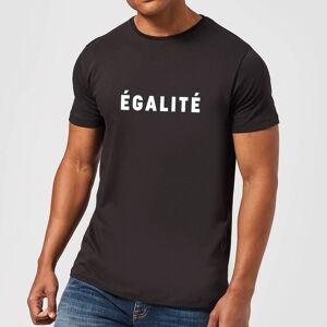 Zavvi Clothing Egalite T-Shirt - Black - XL - Black