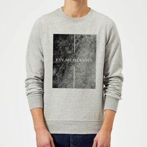 Zavvi Clothing Roman 1984 Sweatshirt - Grey - M - Grey