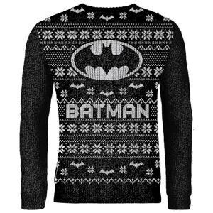 DCShoe Zavvi Exclusive Batman Knitted Christmas Jumper - Black - XXL - Black