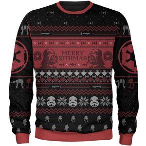 Own Brand Zavvi Exclusive Star Wars Merry Sithmas Xmas Knitted Jumper - Black - XXL