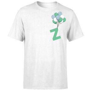 Zavvi Clothing Zavvi Balloon White T-Shirt - L - White