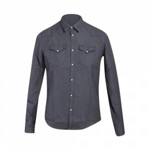 aglini Texan Linen Shirt With Buttons