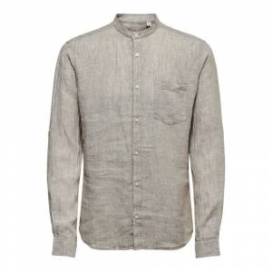 Only & Sons Long Sleeved Top Linen
