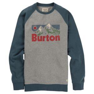 Burton Men's Vista Crew Grå