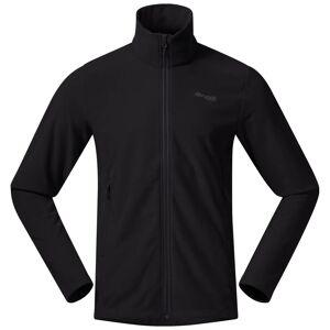 Bergans Finnsnes Fleece Men's Jacket Svart