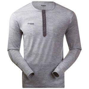 Bergans Henley Wool Shirt Grå
