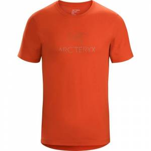 Arc'Teryx Arc'word T-shirt Ss Men's Orange