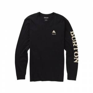 Burton Men's Elite Organic Long Sleeve T-Shirt Svart