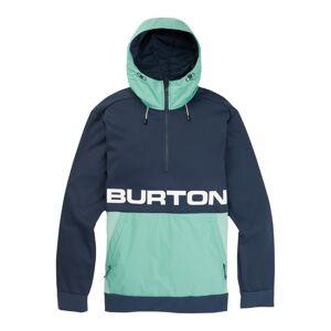 Burton Men's Crown Bonded Performance Fleece Pullover Blå