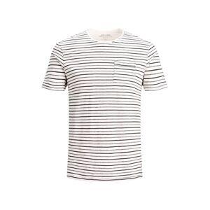 Tee JACK & JONES Lennart Blu. Tee Ss Rundringad T-shirt Man White