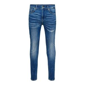 ONLY Onmstan Skinny Fit-jeans Man Blå