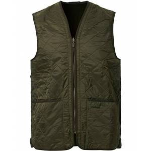 Barbour Lifestyle Quilt Waistcoat / Zip-In Liner Olive